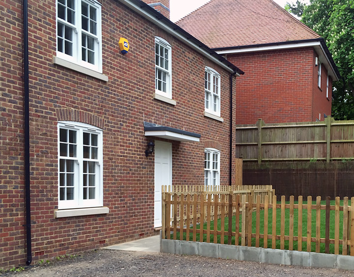 New builds in Faversham